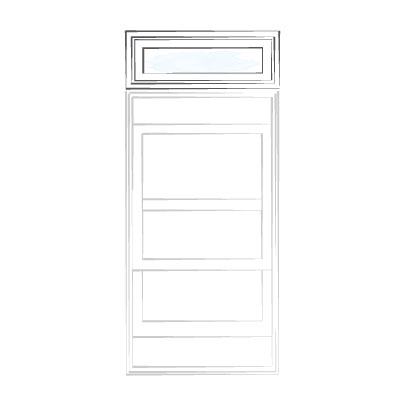 window doublehung transom